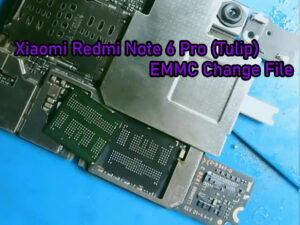 redmi note 6 pro emmc change file photo